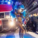 danseuse bookin artistes pumes brésiliennes carnaval