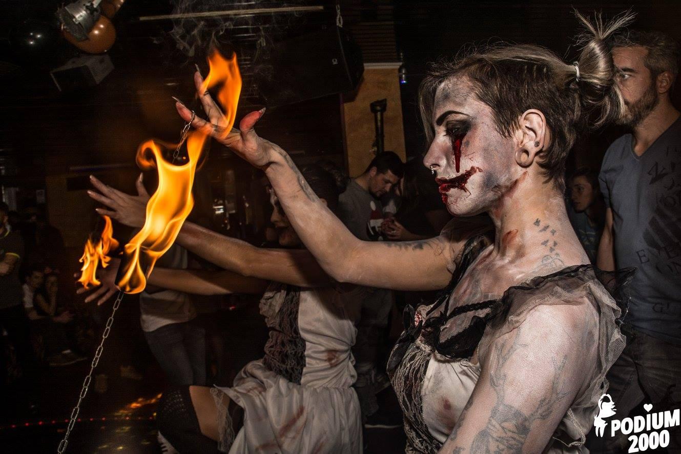 concepts soirées clubbing artistes performeurs