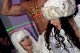 concepts soirées clubbing artistes performeurs russian party nouvel an russe