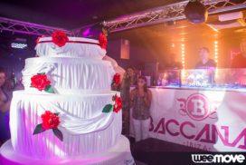 Concepts de soirées clubbing artites performeurs cirque france gâteau géant anniversaire