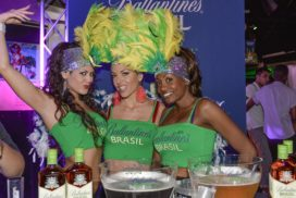 Concepts de soirées clubbing artites performeurs cirque france seducao brasil troupe de danse brésilienne