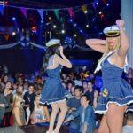Concepts de soirées clubbing artites performeurs cirque france la croisiere s'amuse specatcle show gogo performeuses artostes booking france elcircus