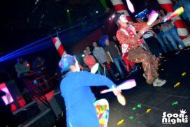 concepts soirées clubbing artistes performeurs clowns jongleurs