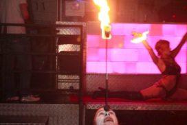 concepts soirées clubbing artistes performeurs jongleur de feu