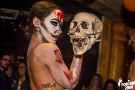 Concepts de soirées clubbing artites performeurs cirque france bain de sang the real walking dead