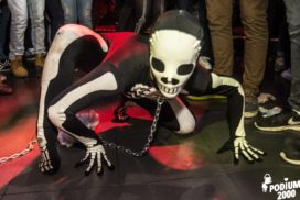 Concepts de soirées clubbing artites performeurs cirque france créatures the real walking dead