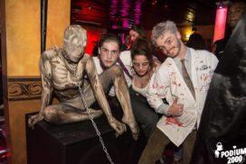 Concepts de soirées clubbing artites performeurs cirque france noces funèbres, Freddy krueger, Créatures