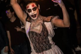concepts soirées clubbing artistes performeurs the real walking dead zombies