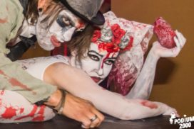 concepts soirées clubbing artistes performeurs the real walking dead zombies performance france