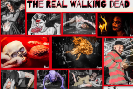 concepts soirées clubbing artistes performeurs the real walking dead