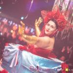 Concepts de soirées clubbing artites performeurs cirque france gateaux geant disney trash burlesque show