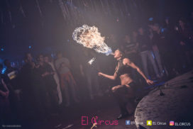 Concepts de soirées clubbing artites performeurs cirque france cracheuse de feu disney trash