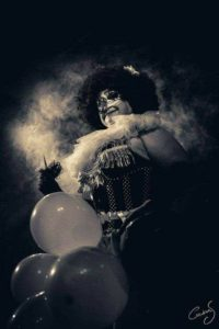 clown show burleque gorlesque