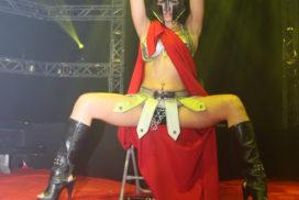 concepts soirées clubbing artistes performeurs spartan spartiate show striptease