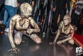 Concepts de soirées clubbing artistes performeurs cirque france