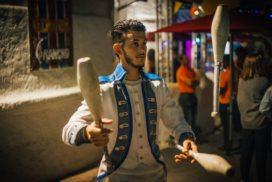 concepts soirées clubbing artistes performeurs jongleurs